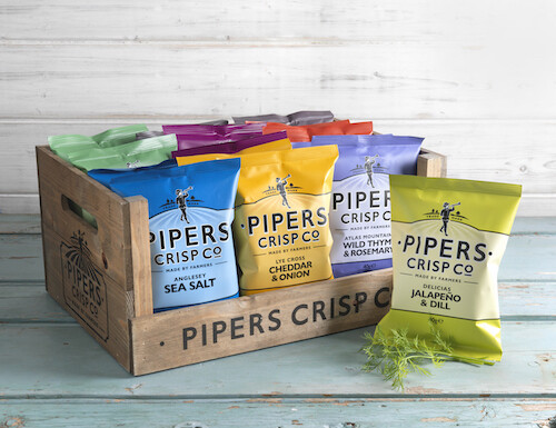 Pipers Crisps Multipack x6