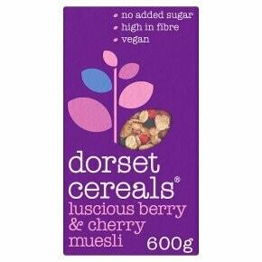 Dorset Cereals Berry & Cherry Muesli 500g