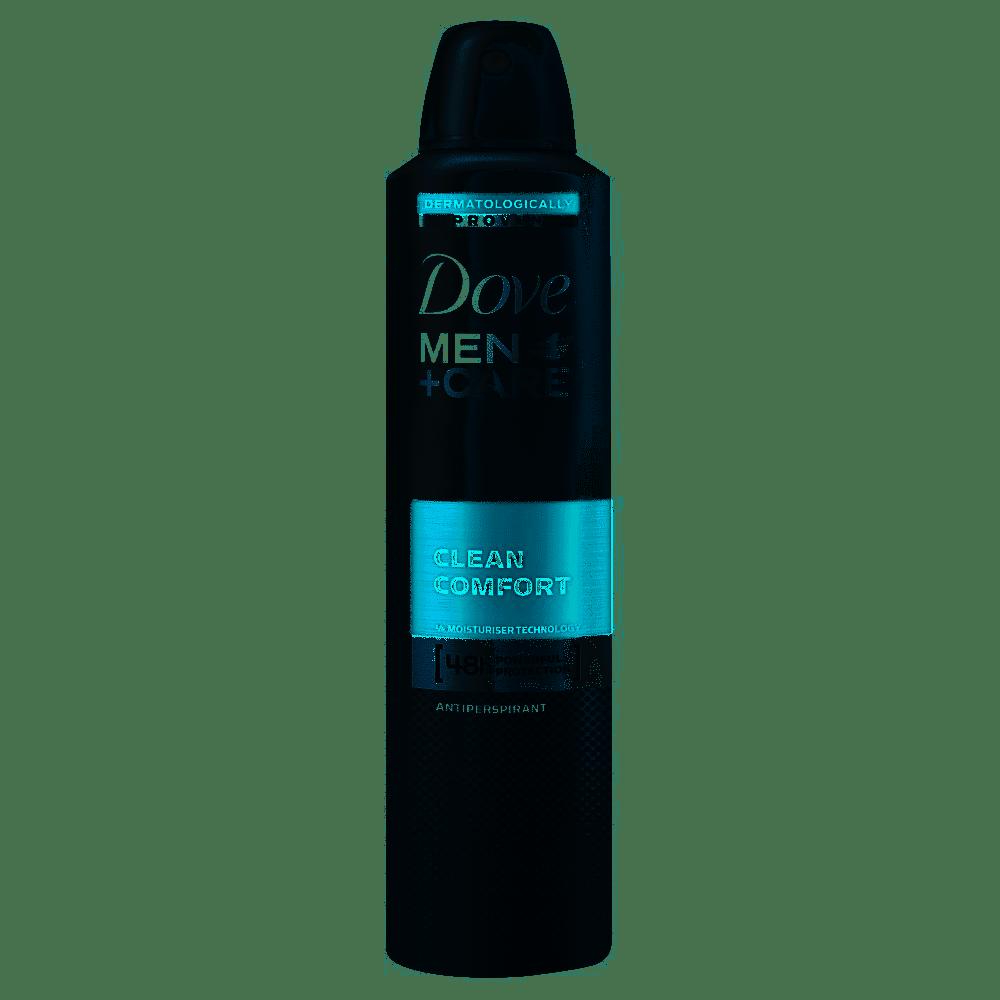 Dove Anti-Perspirant Deodorant For Men Clean Comfort 250ml