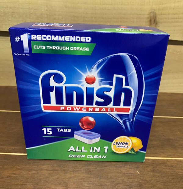 Finish Powerball All In 1 Dishwasher Tablets 15's