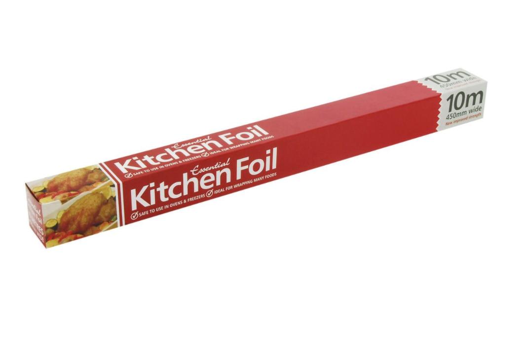 Essentials Kitchen Foil 450mm x 10m