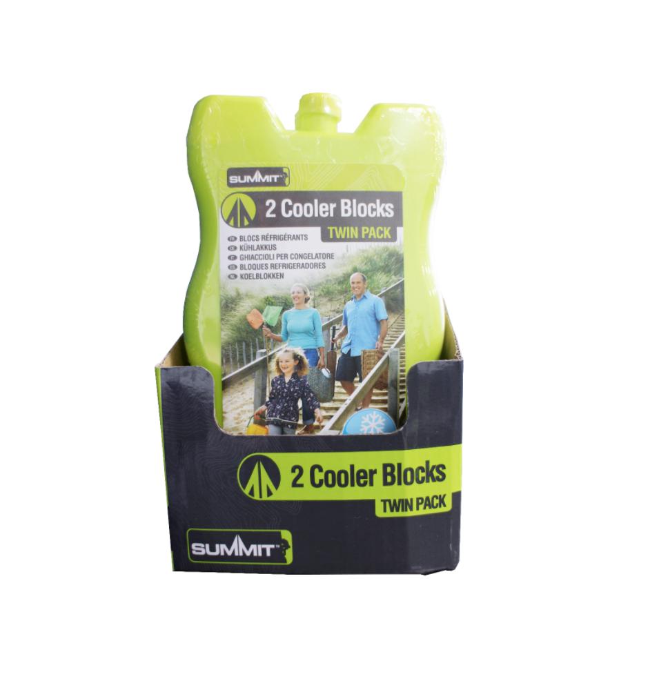 Summit Cooler Blocks 200ml Twin Pack
