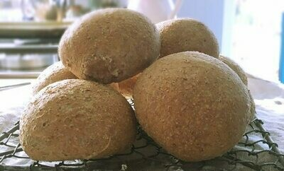 Wholemeal Rolls x 4