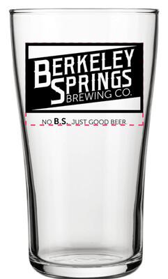 Brewery Logo Pint Glass