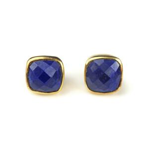 Lapis Stud Earrings