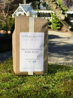 SUGAR CANE PROCESS DECAF 100% COLOMBIAN from Town & Country Coffee Company
