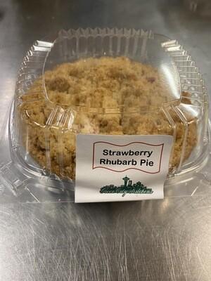 Strawberry Rhubarb Pie Small Size 5