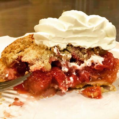 Strawberry Rhubarb Pie Full Size 9