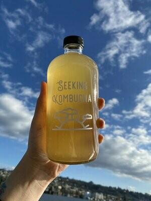 June Blush Kombucha 64 oz Refill from Seeking Kombucha