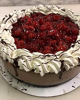 Black Forest Cheesecake Large 9