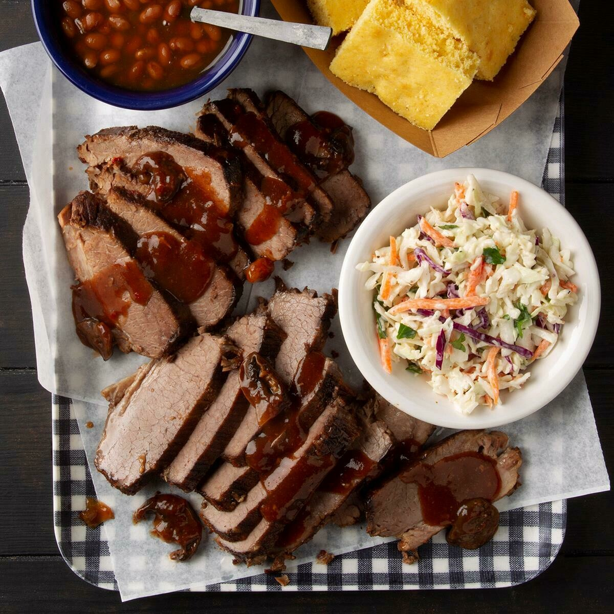 Beef Brisket BBQ Dinner for Two from NW Texas BBQ