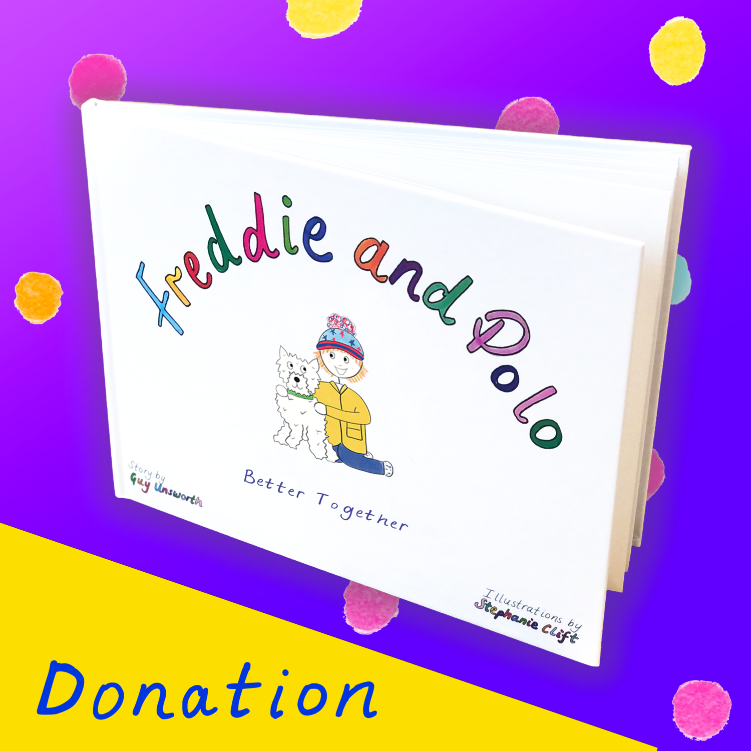 Donate 'Better Together' to a Nursery or Children's Hospital