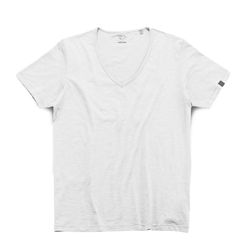 Switcher slub V- T-Shirt