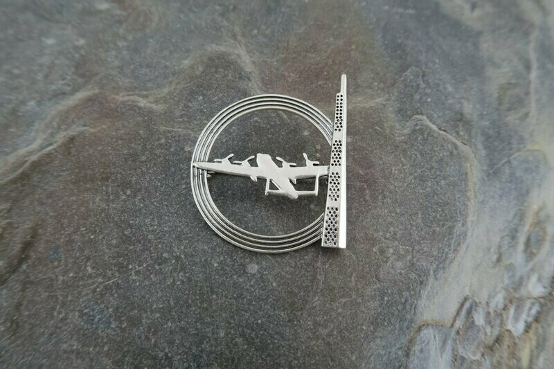 IBCC Brooch - Silver Colour