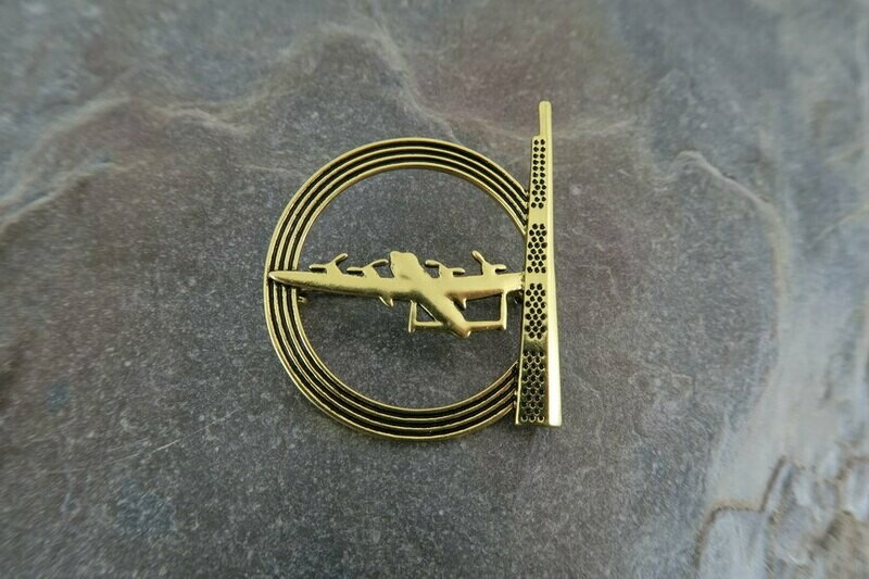 IBCC Brooch - Gold Colour