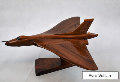 Wooden Aircraft Model - Avro Vulcan