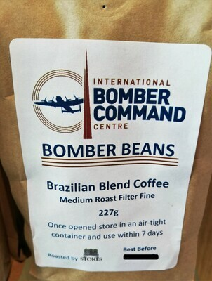 Bomber Beans Ground Coffee