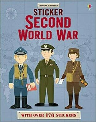 Second World War Sticker Book