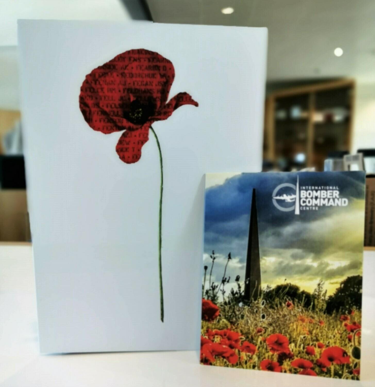IBCC Poppy Card & Poppy Seeds Set