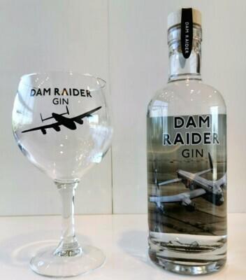 Dam Raider Gin & Copa Glass Gift Pack