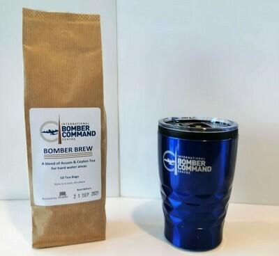 IBCC Travel Mug and Tea Gift Pack