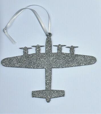 Christmas Decoration Lancaster Silver