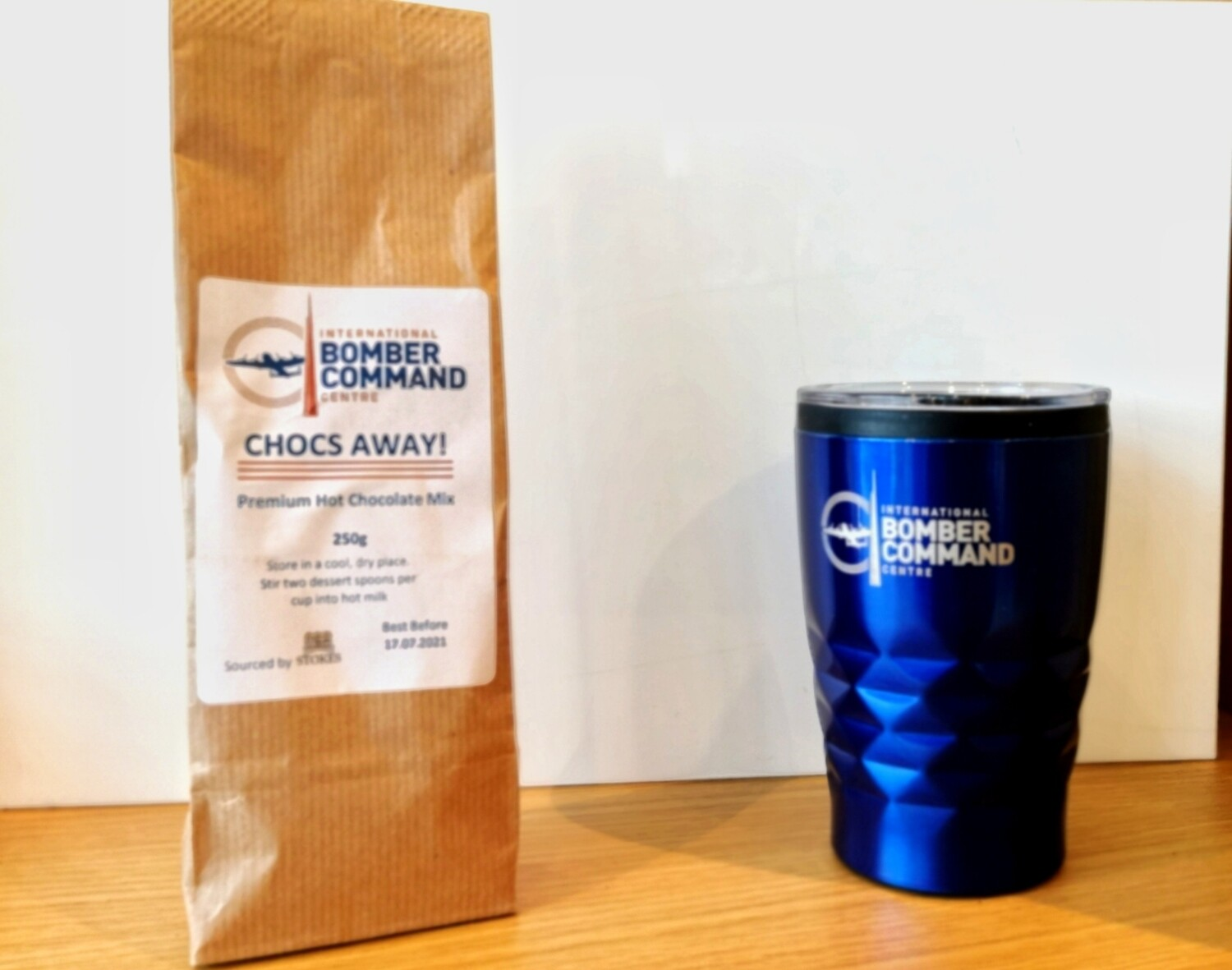 IBCC Travel Mug and Hot Chocolate Gift Pack