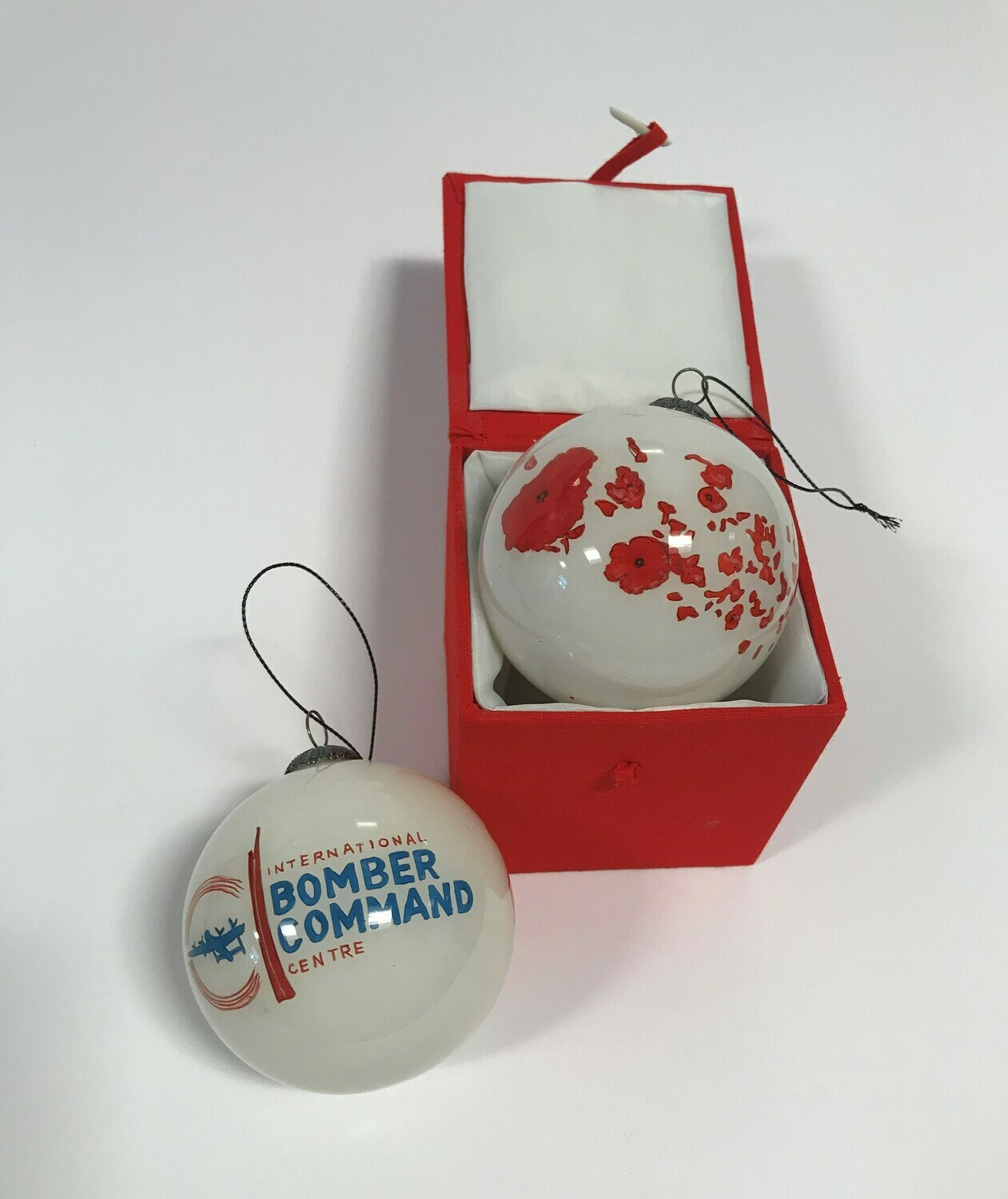 IBCC Poppies Christmas Bauble
