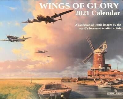 Wings of Glory 2021 Calendar