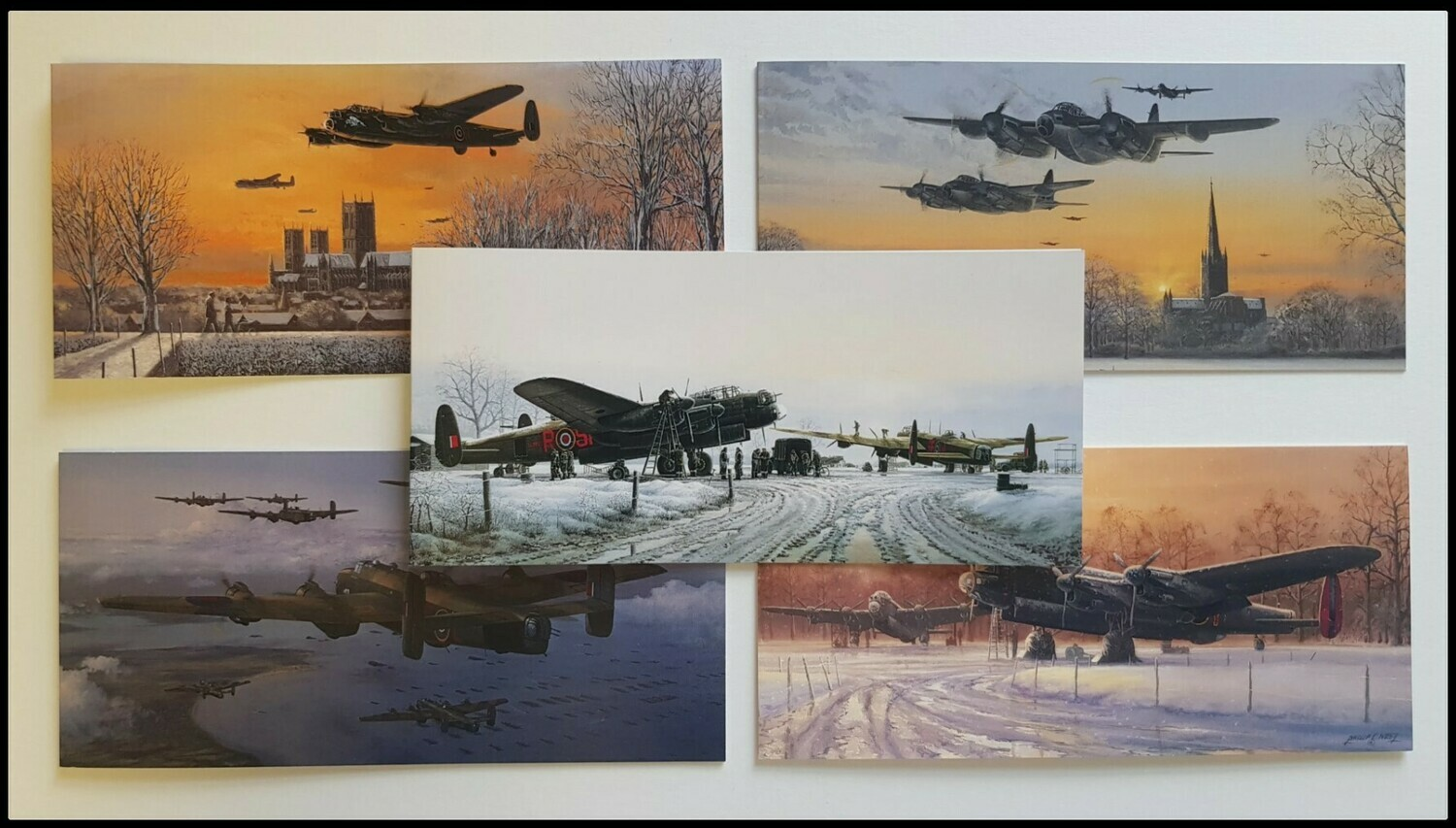 5 pack Bomber Command Christmas Cards