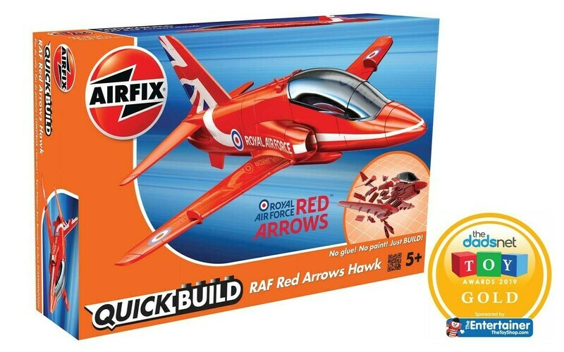 Airfix Quickbuild Red Arrow Hawk