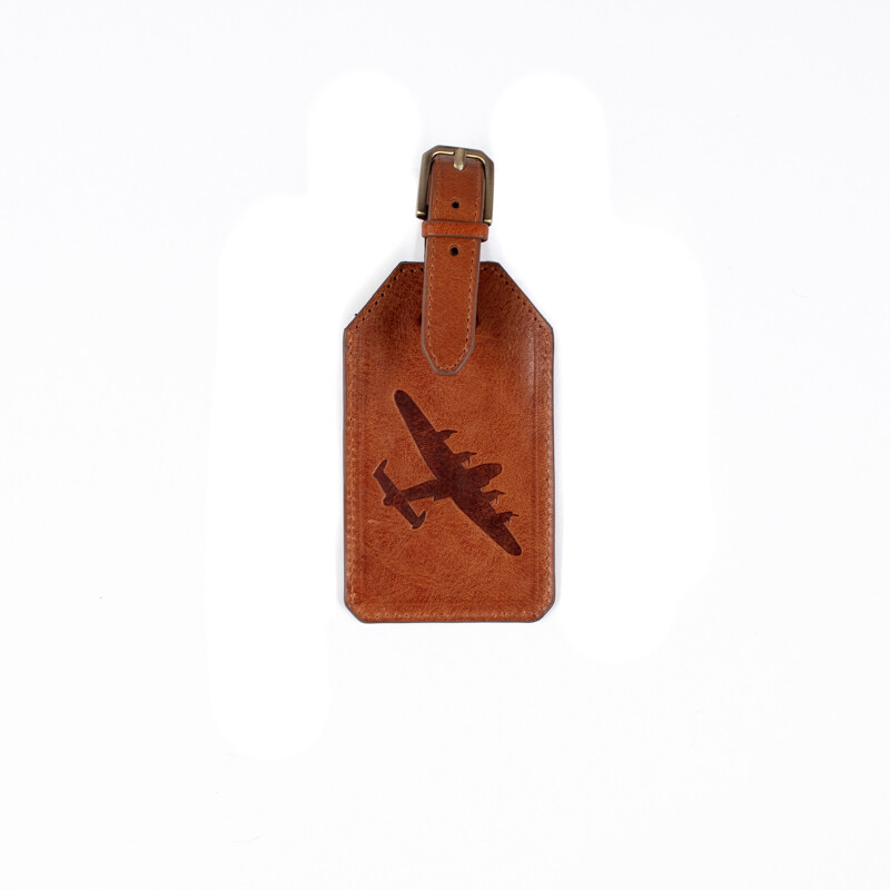 Lancaster Leather Luggage tag