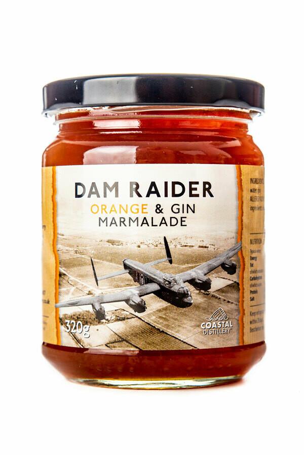 Dam Raider Orange and Gin Marmalade