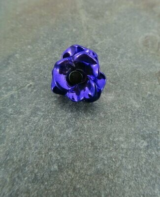 Purple Poppy Lapel Pin