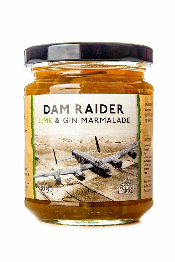 Dam Raider Lime and Gin Marmalade