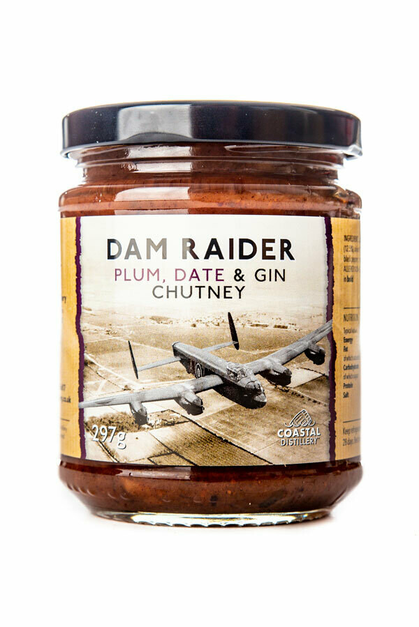 Dam Raider Plum, Date and Gin Chutney