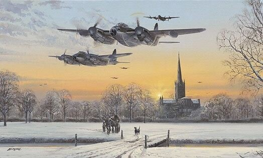5 Pack Christmas Card 'Pathfinder Force'