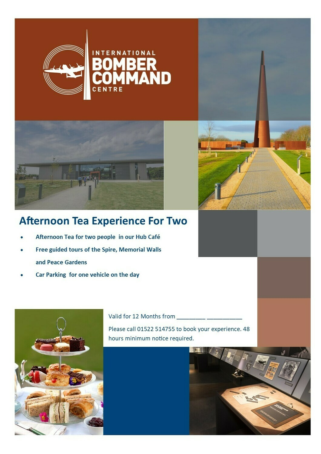 Afternoon Tea Experience for Two in presentation pack