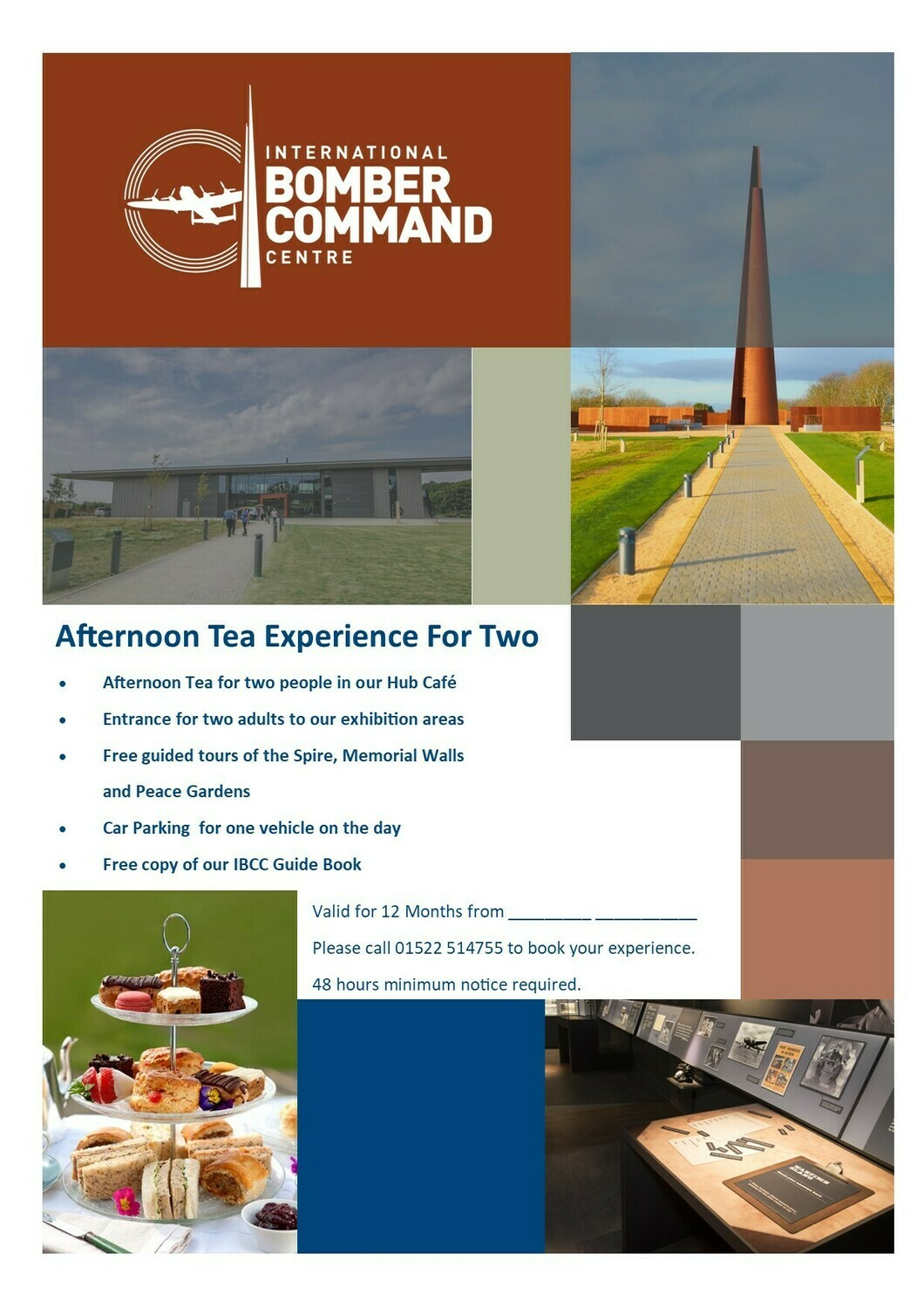 Afternoon Tea Experience for Two Voucher and Presentation Pack