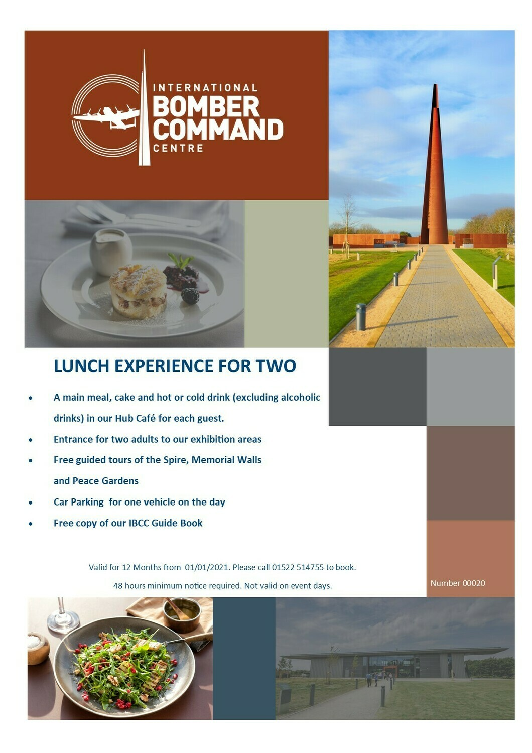 Lunch Experience for Two and Presentation Pack