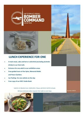 Lunch Experience for One and Presentation Pack