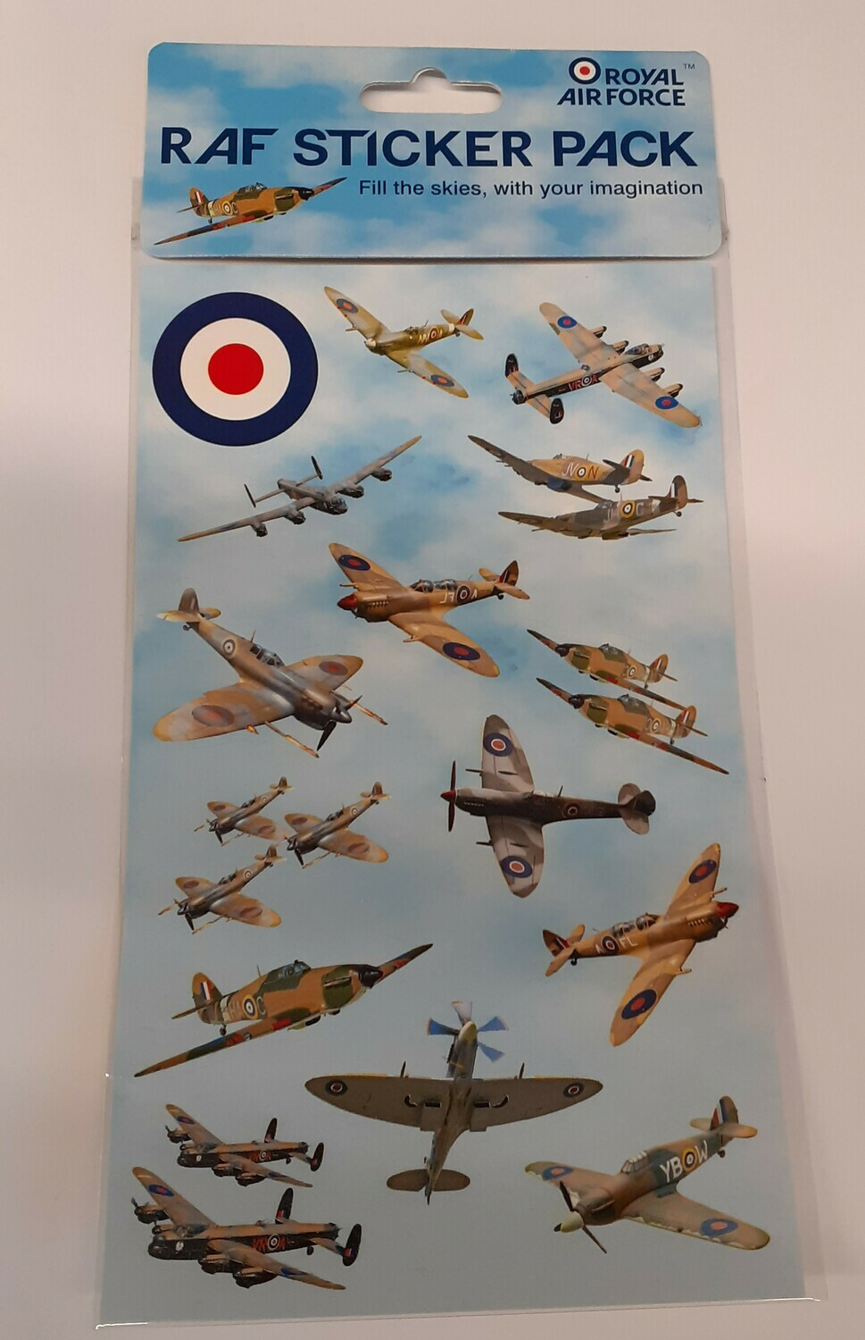 WW2 Aircraft Sticker Pack