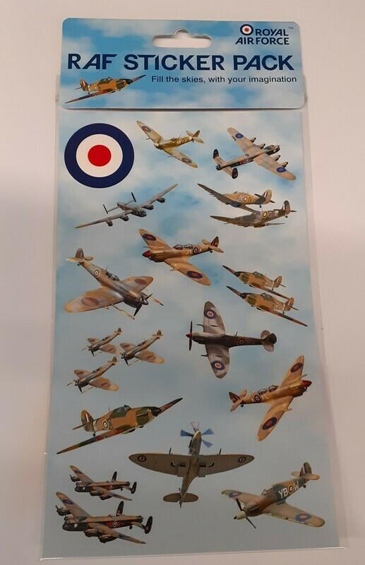 WW2 Aircraft Sticker Pack