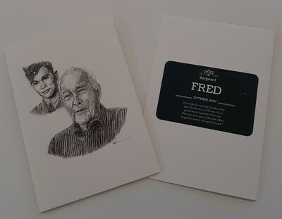 Fred Sutherland Note Card