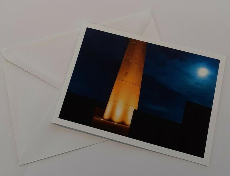 Bombers Moon Greeting Card