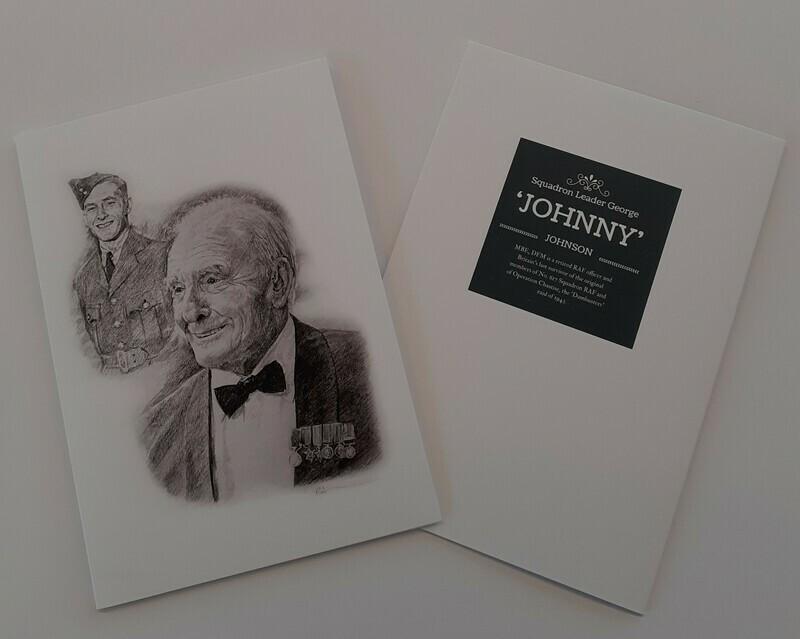 Johnny Johnson Note Card