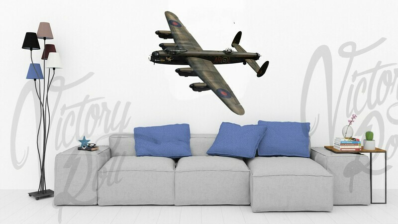 Wall Decal Lancaster W5005 AR-L Leader above clouds