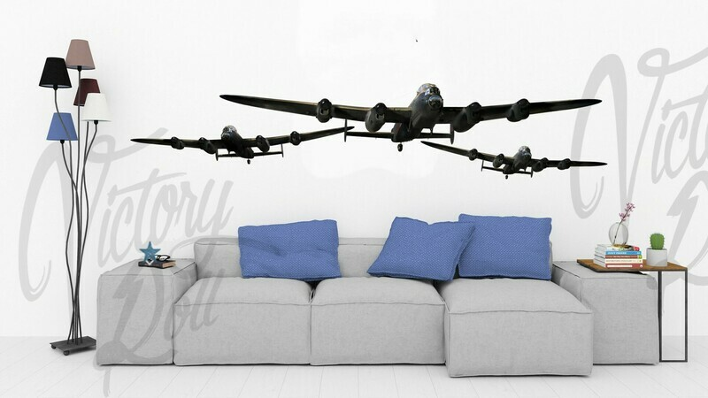 Wall Decal Trio of Lancasters
