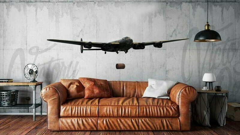 Wall Decal Lancaster Dropping