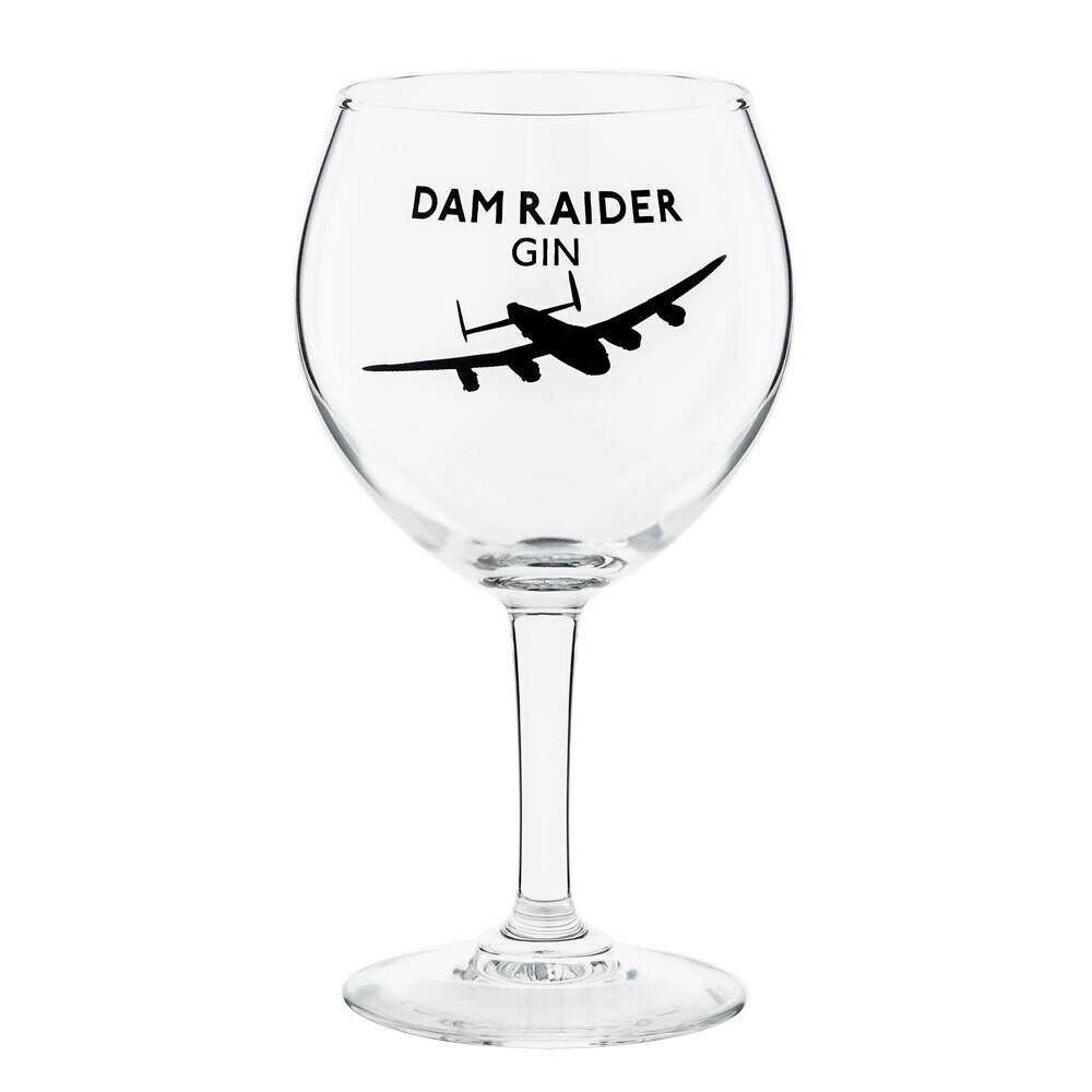 Dam Raider Balloon Glass